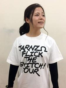 ライブツアー用のTシャツ