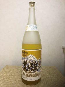 一升瓶の日本酒